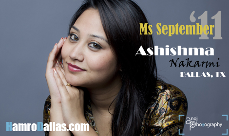 Ms September '11 Ashishma Nakarmi